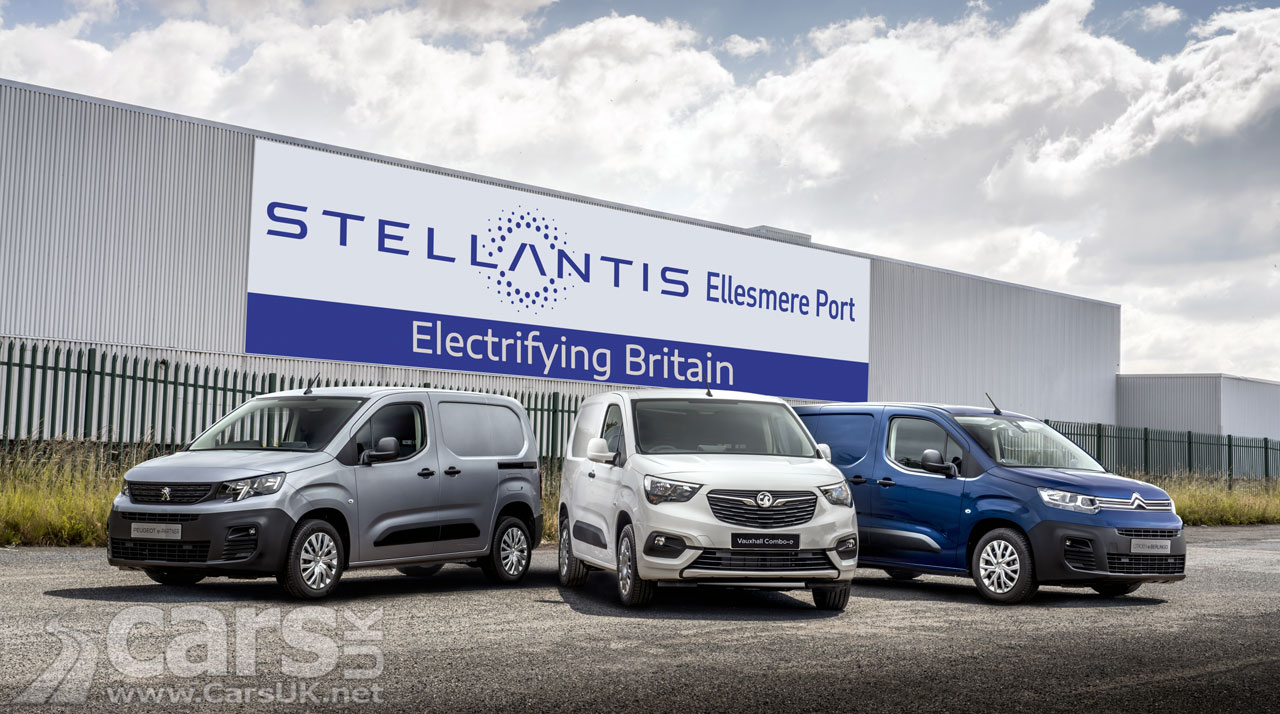 Photo Stellantis' electric vans