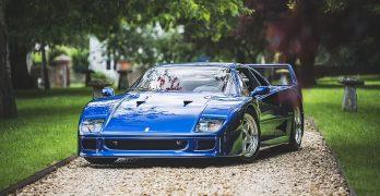 Photo Ferrari F40 'F40 BLU'