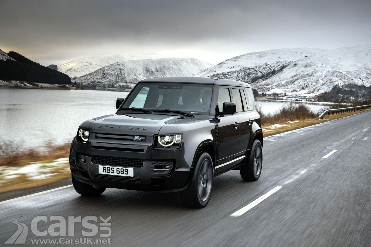 Photo Land Rover Defender SVR