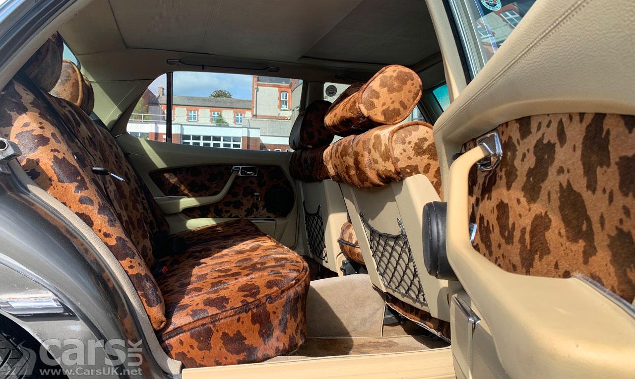Photo Bono's Mercedes 450 SEL Interior
