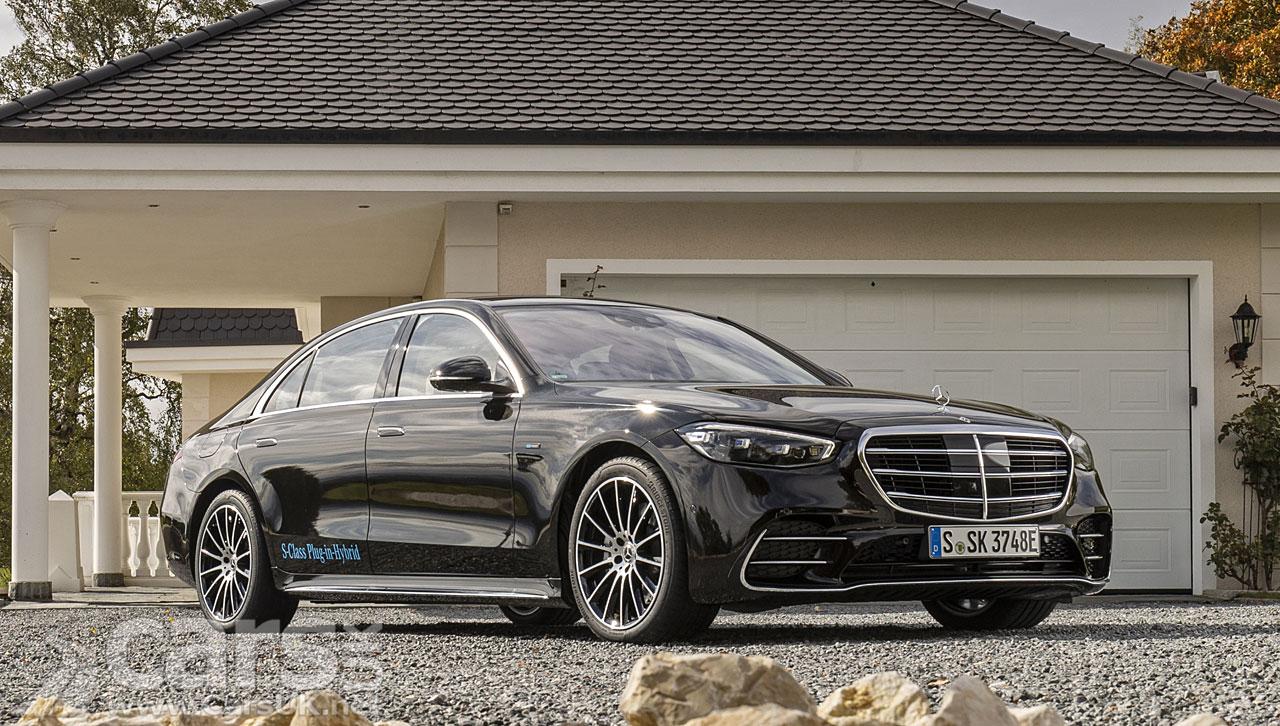 Photo New Mercedes S 580 e L Plug-in Hybrid