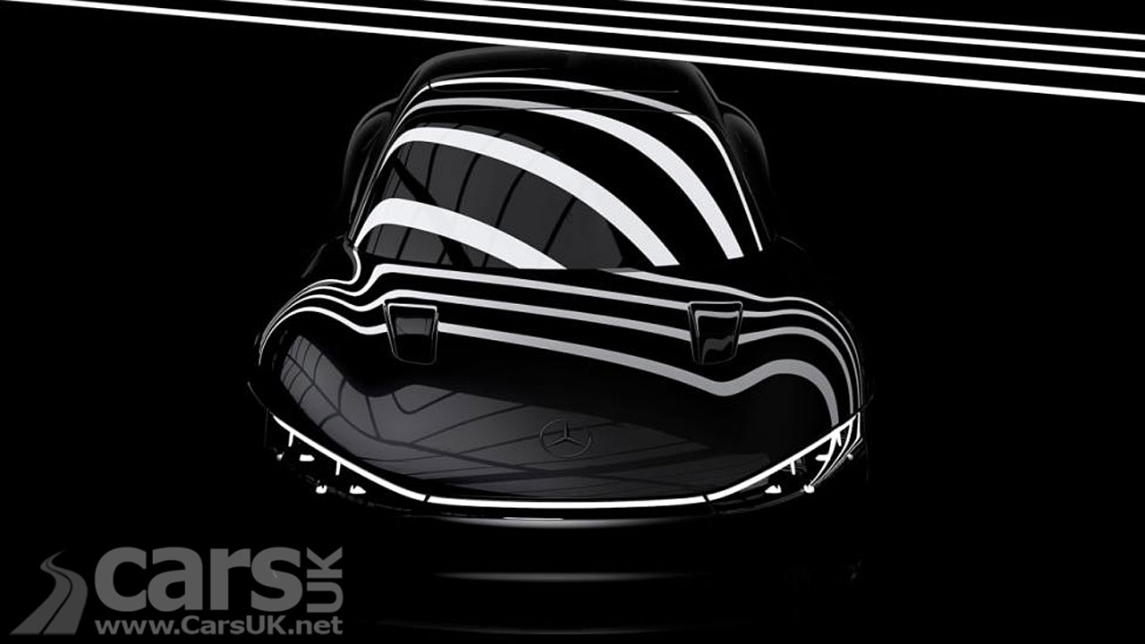 Photo Electric Mercedes Vision EQXX