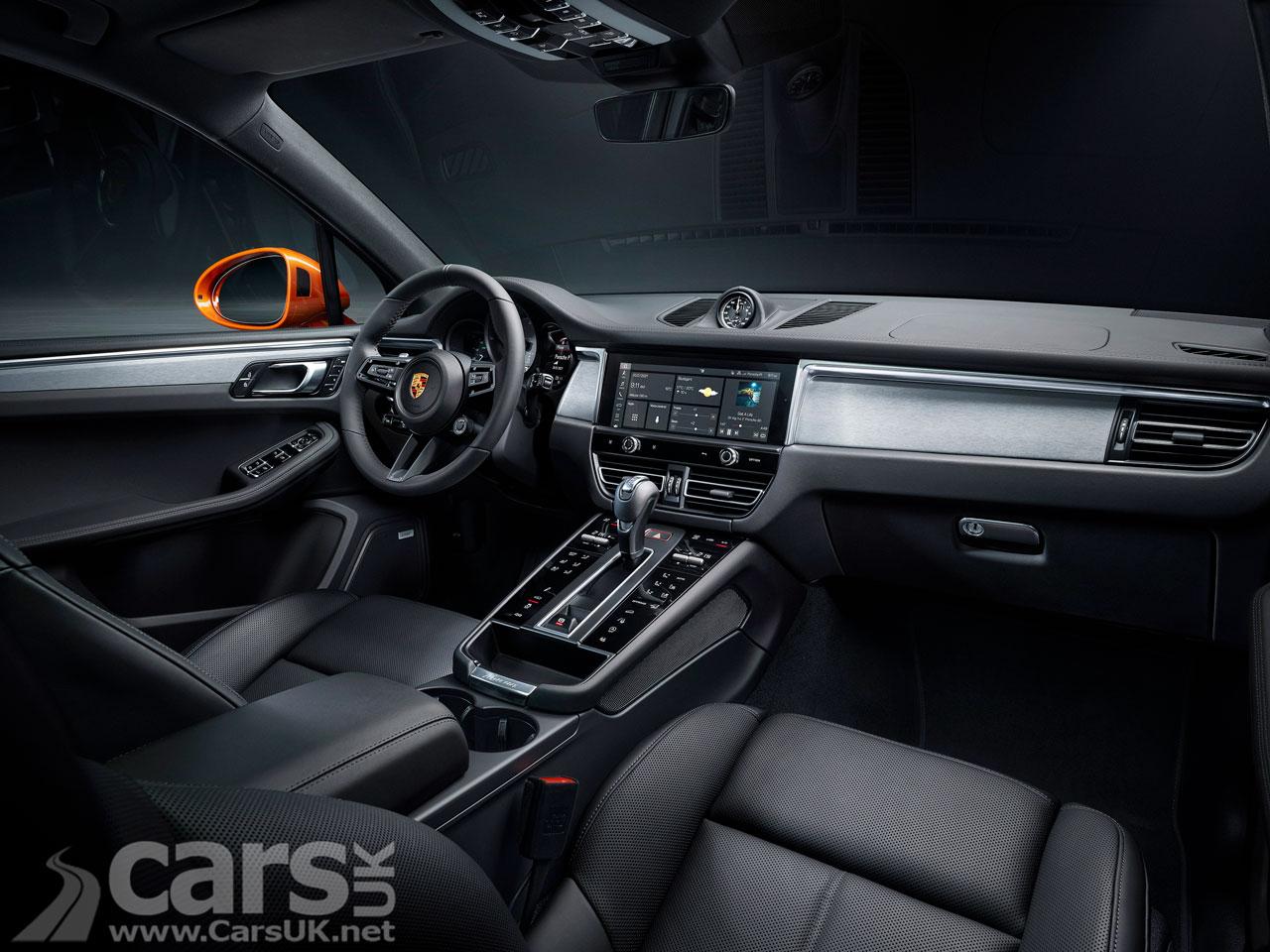 Photo 2021 Porsche Macan interior