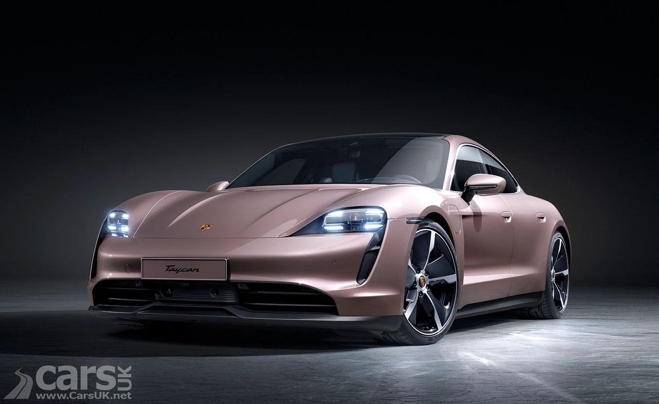 Photo Porsche Taycan