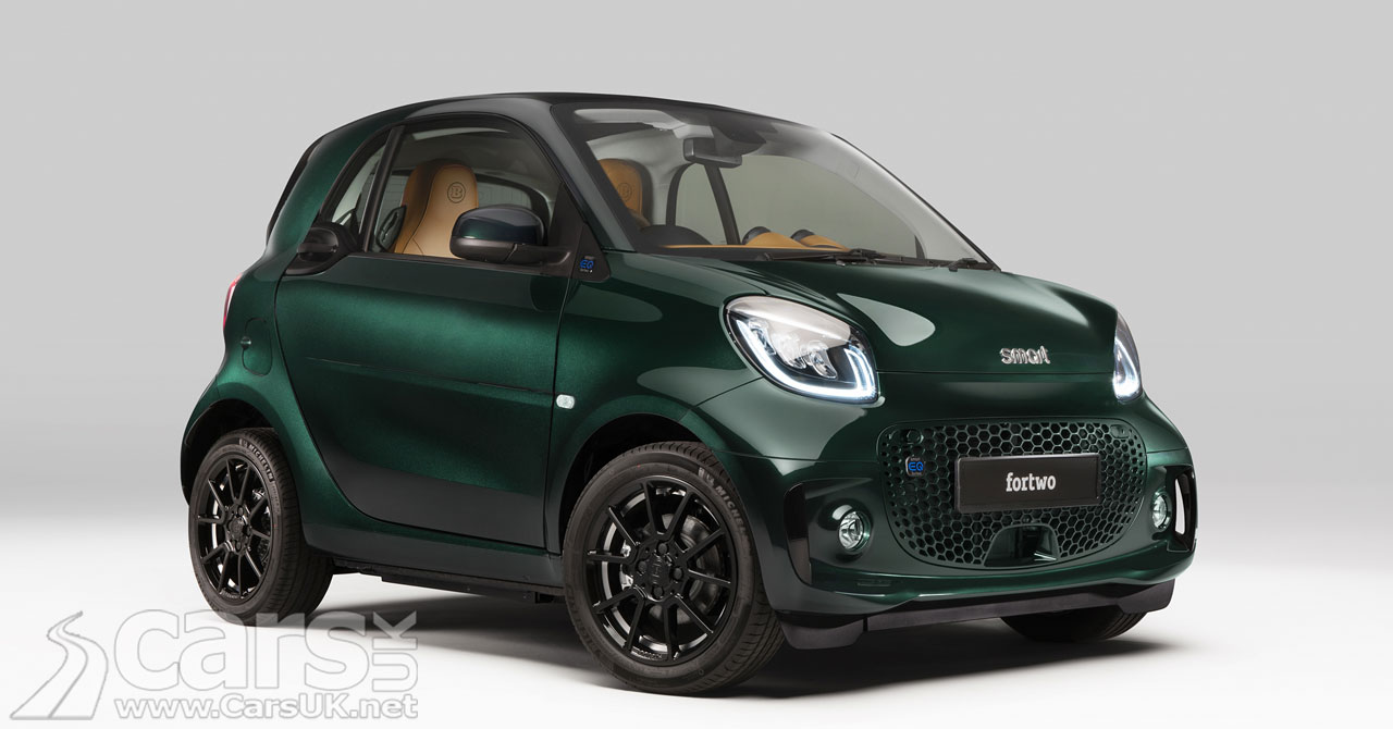 Photo Smart EQ Fortwo Racing Green Edition