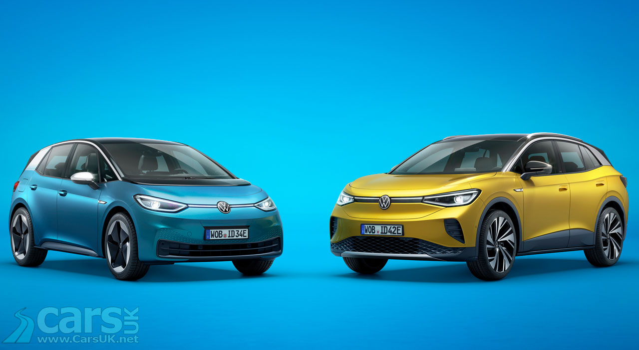 Photo Electric Volkswagen ID.3 and ID.4