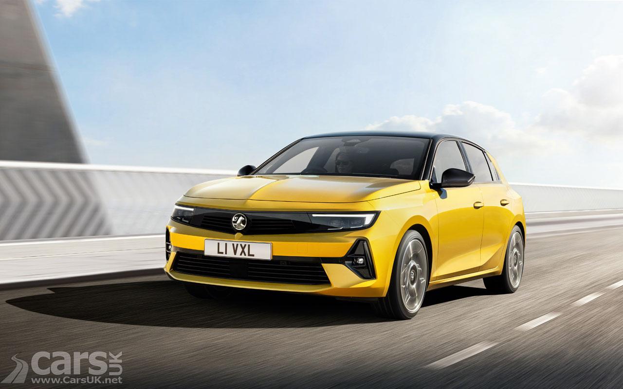 Photo New Vauxhall Astra