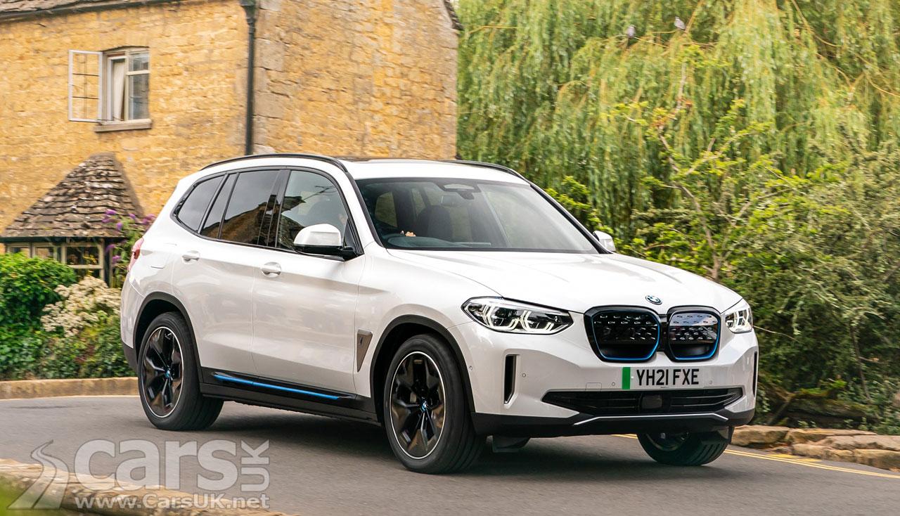 Photo Electric BMW iX3 UK