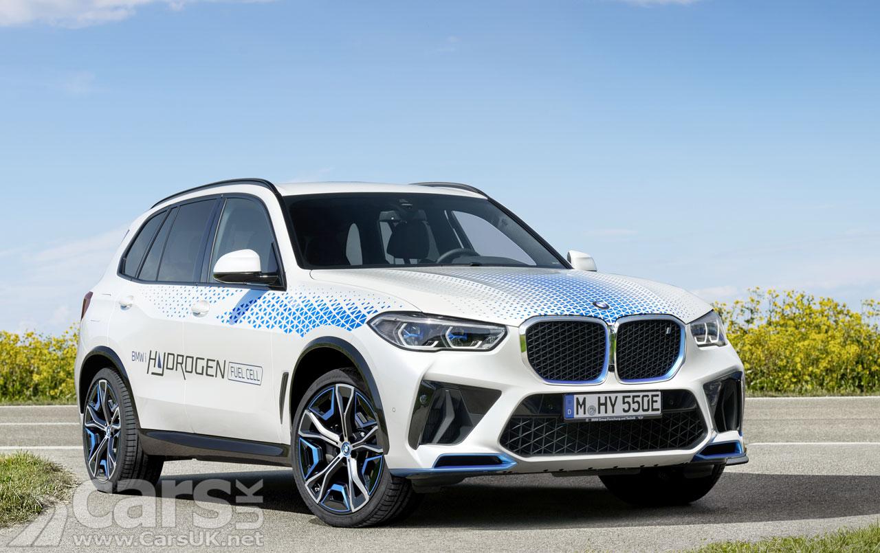Photo BMW iX5 Hydrogen