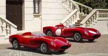 Photo 1957 250 Testa Rossa with 1957 Ferrari 250 Testa Rossa