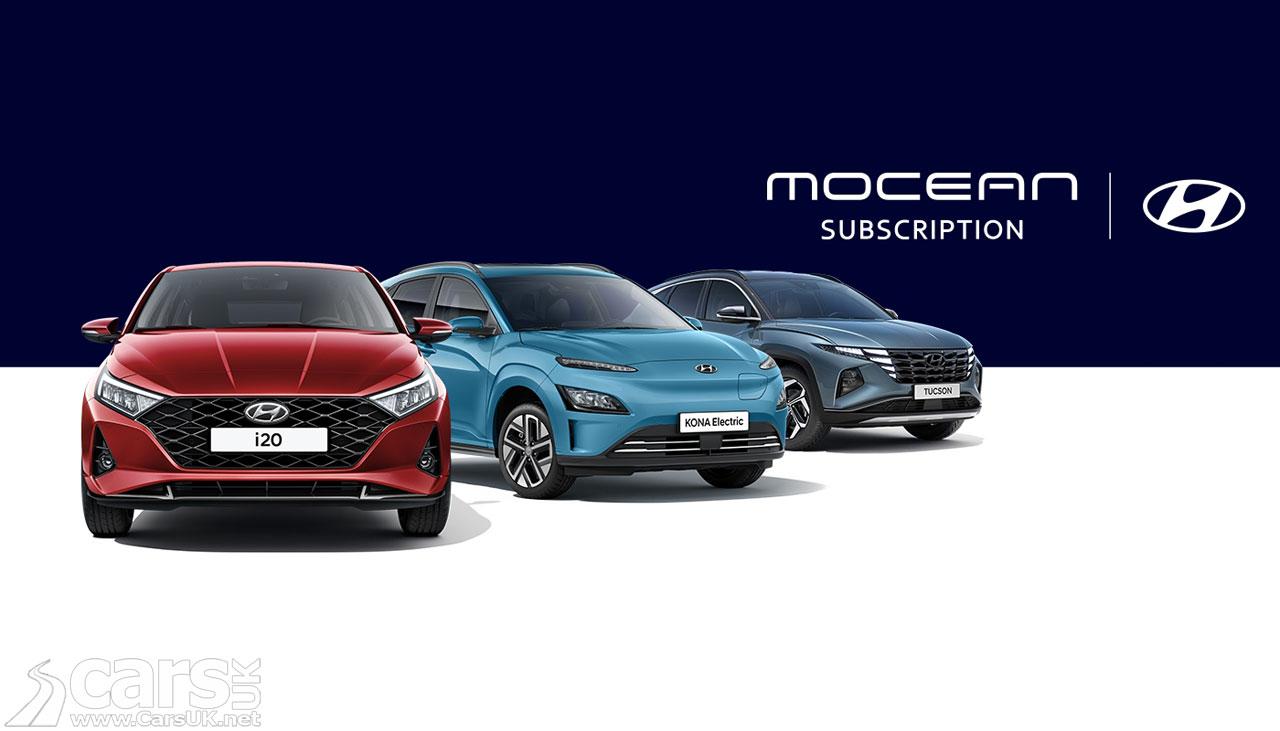 Photo Hyundai Mocean Subscription