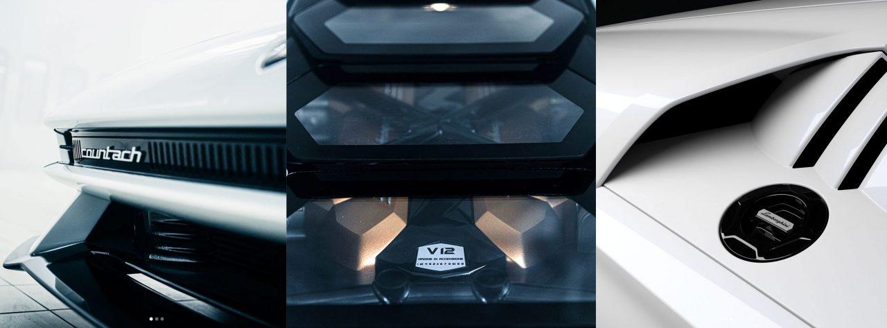 Photo New Lamborghini Countach teased again