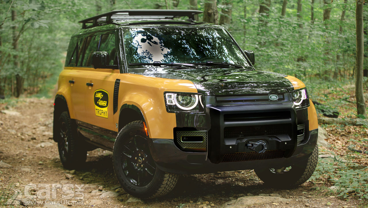 Photo New Land Rover Defender Trophy Edition