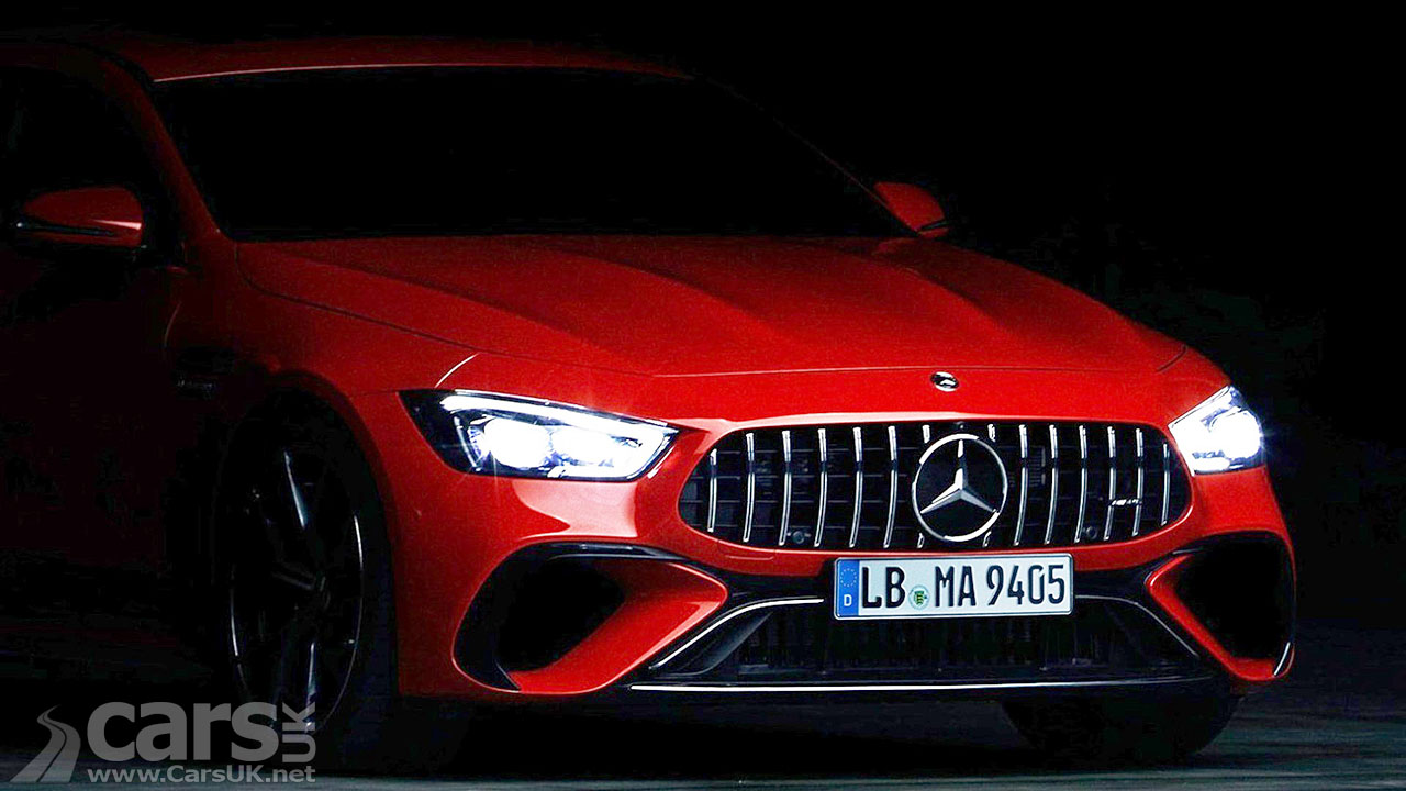 Photo Mercedes-AMG GT PHEV with 800bhp teased