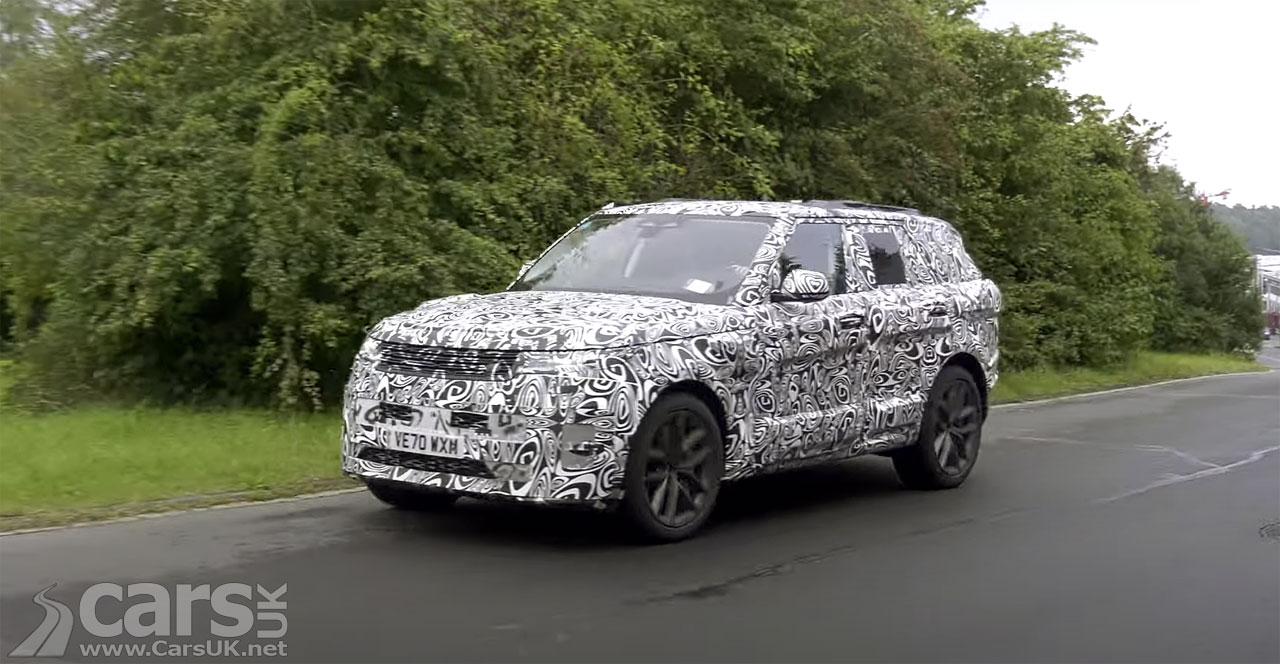 Photo New Range Rover Sport SVR SPIED on video