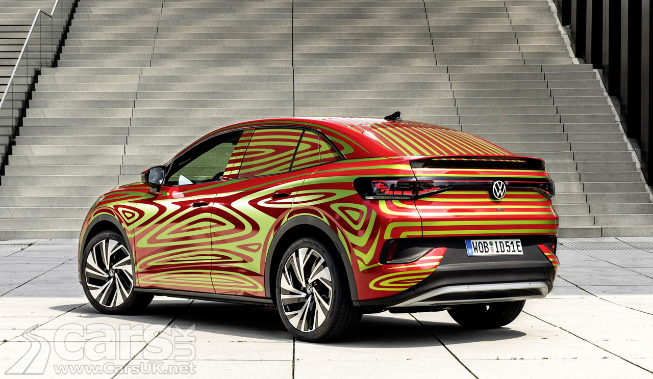 Photo rear of Volkswagen ID.5 GTX