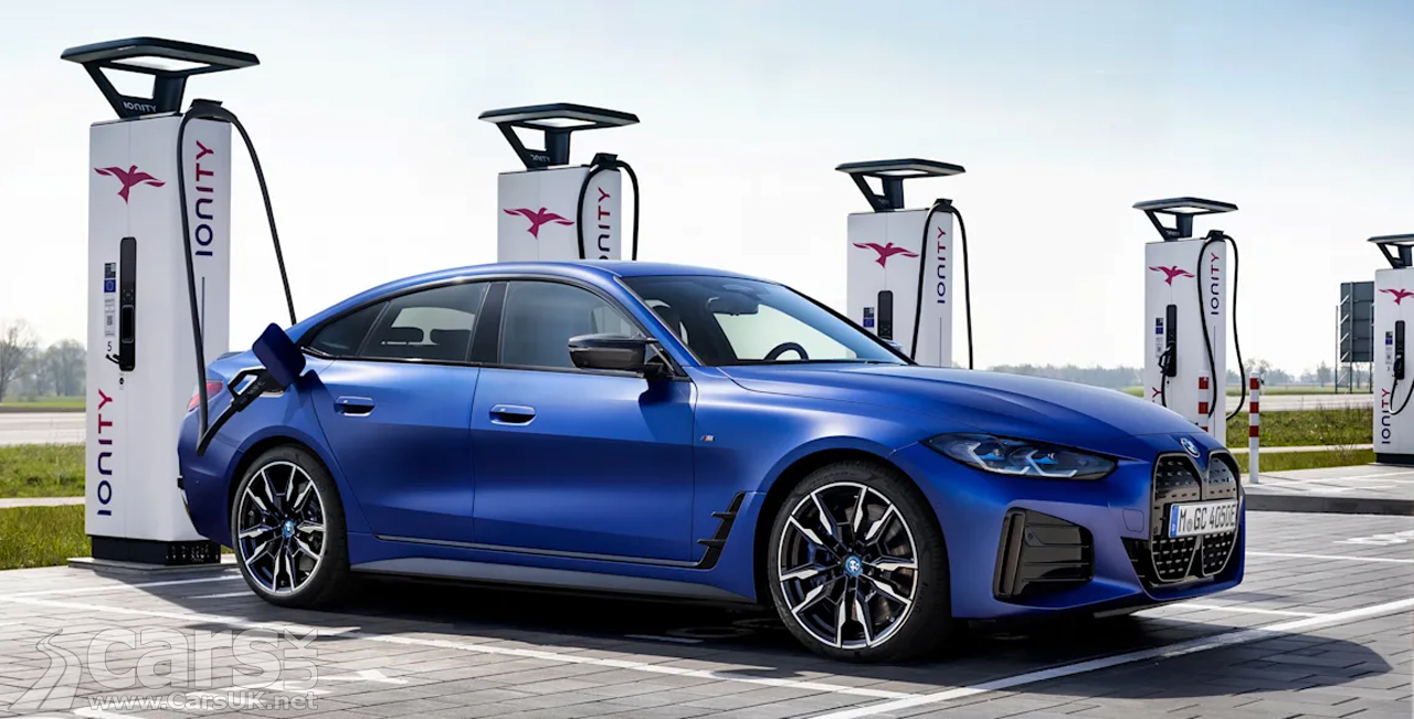 Photo electric BMW charging