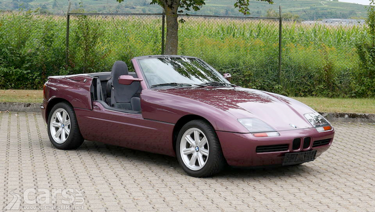 1991 BMW Z1 in Magic-Violett with just 12 miles on offer for up to £100k