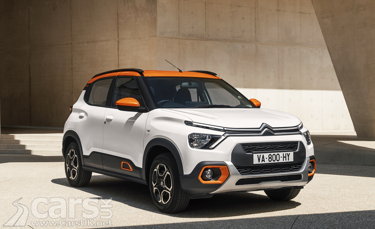 Photo New Citroen C3 for India and South America