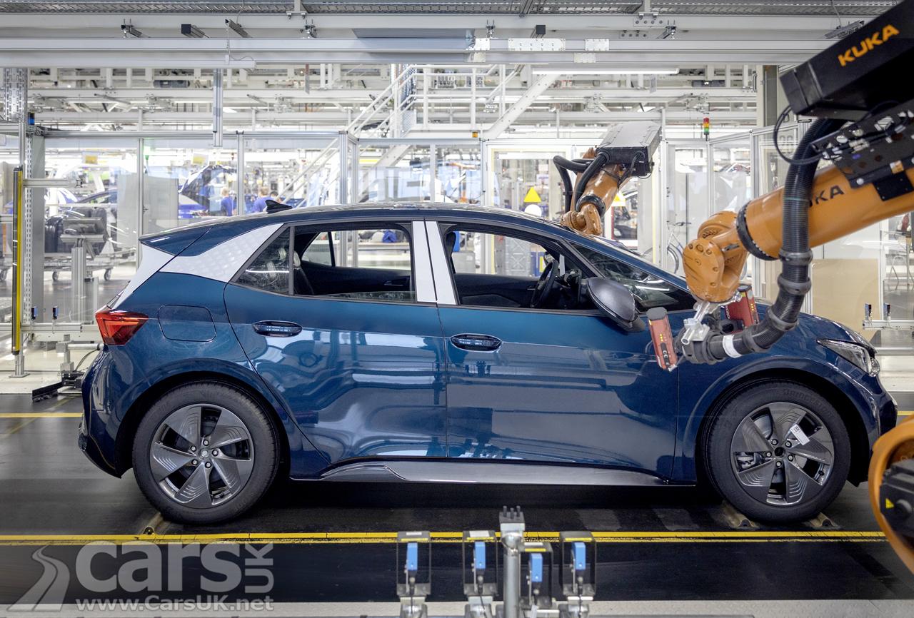 The Cupra Born electric Hatch production