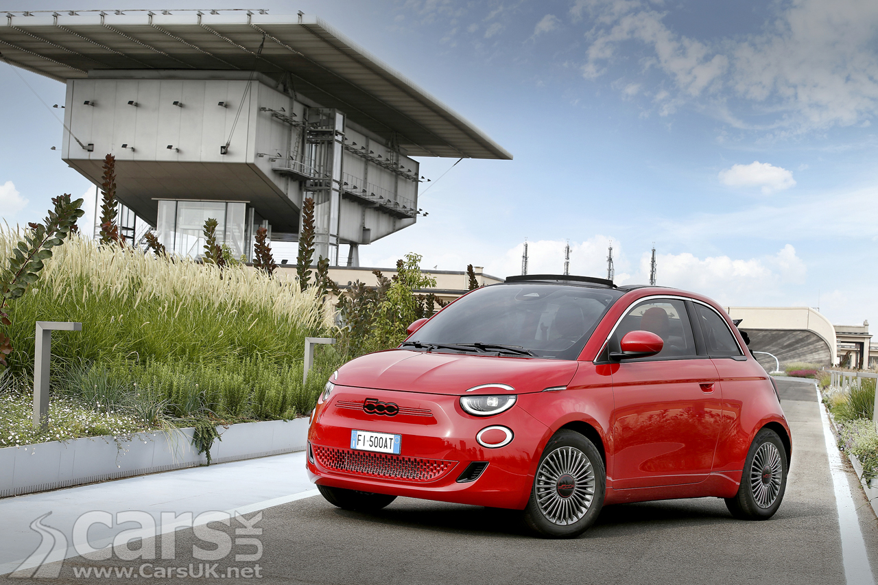 Photo Fiat (500) RED Electric