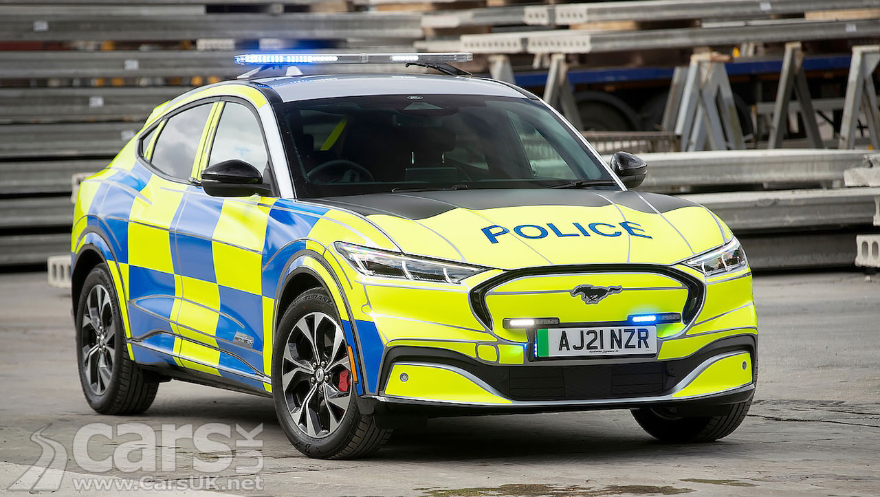 Photo Ford Mustang Mach-E Police Car Concept