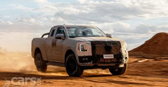 Photo 2022 Ford Ranger off-road testing