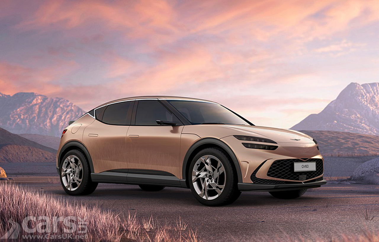 New electric Genesis GV60 with 4WD, 429bhp range-topper