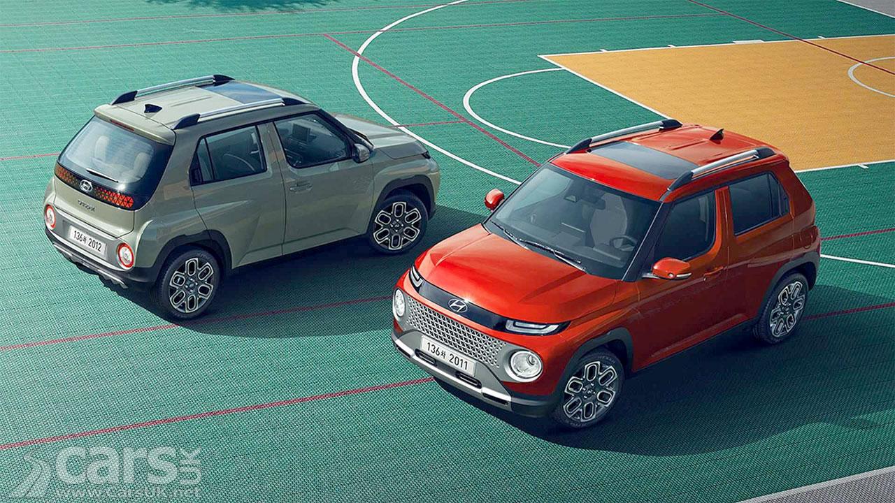 Photo New Hyundai Casper SUV