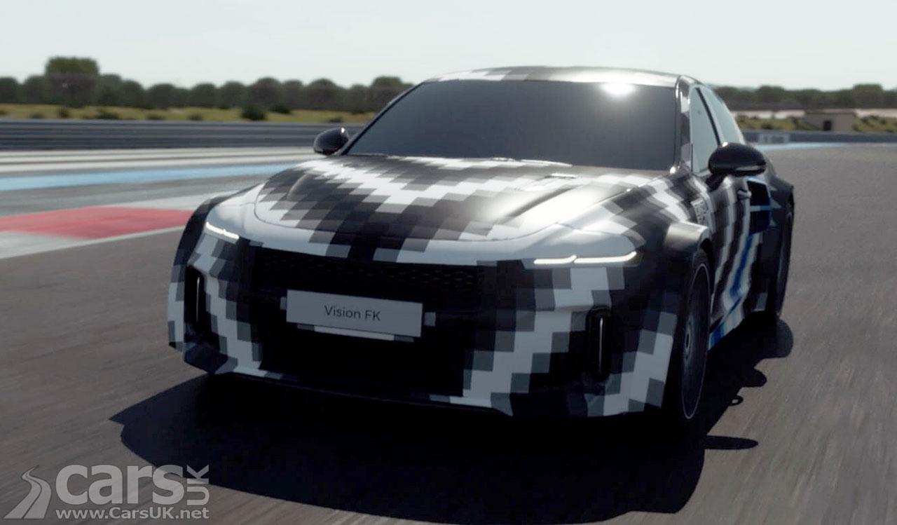 Photo Hyundai Vision FK Hydrogen Hybrid Concept