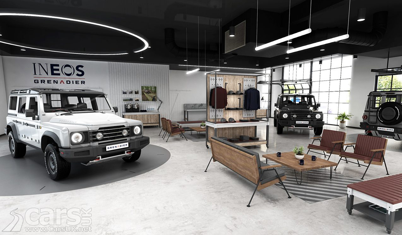 Ineos Grenadier retail concept reveal as Land Rover Defender rival nears launch.
