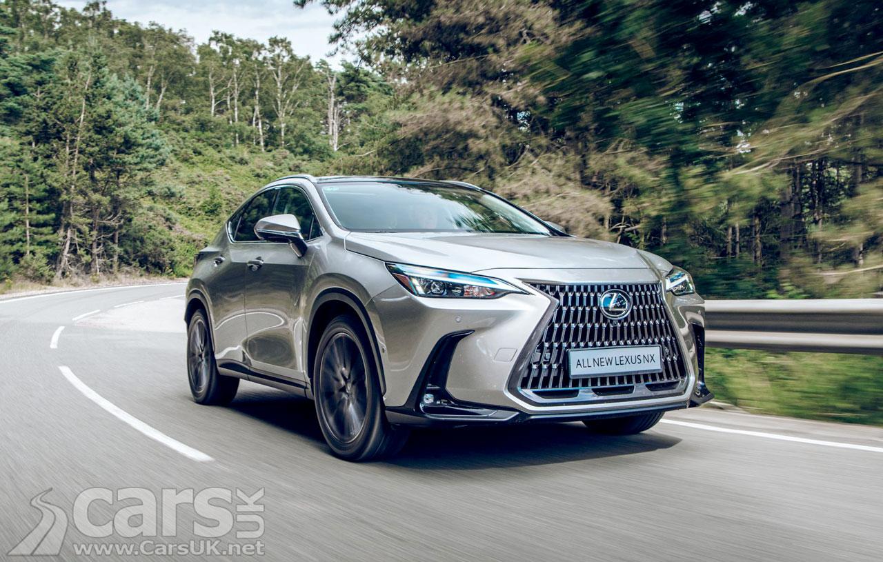 Photo New Lexus NX UK