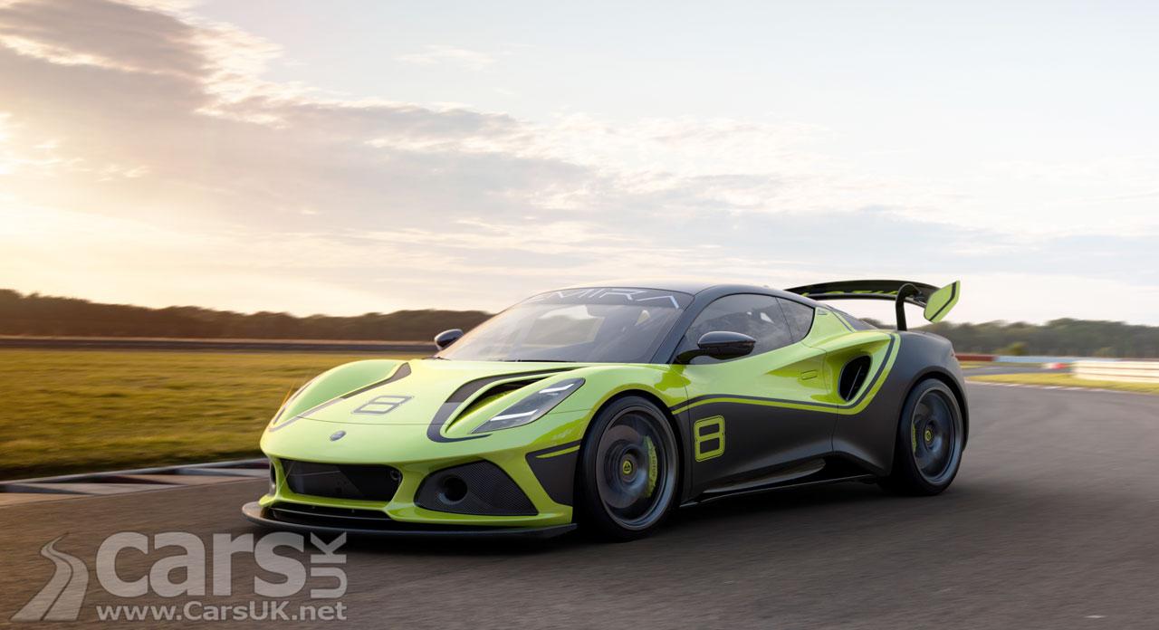 Photo Lotus Emira GT4