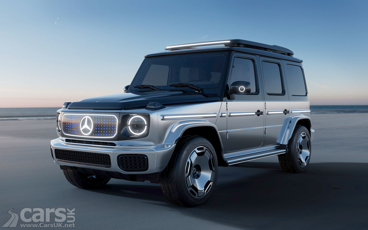 Photo Mercedes EQG Concept