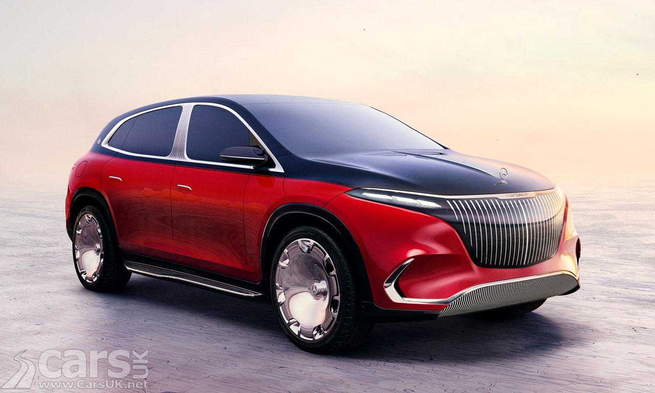 Photo Mercedes-Maybach Concept EQS SUV