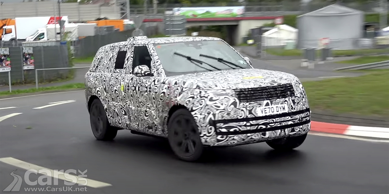 Photo Range Rover PHEV Spy Video