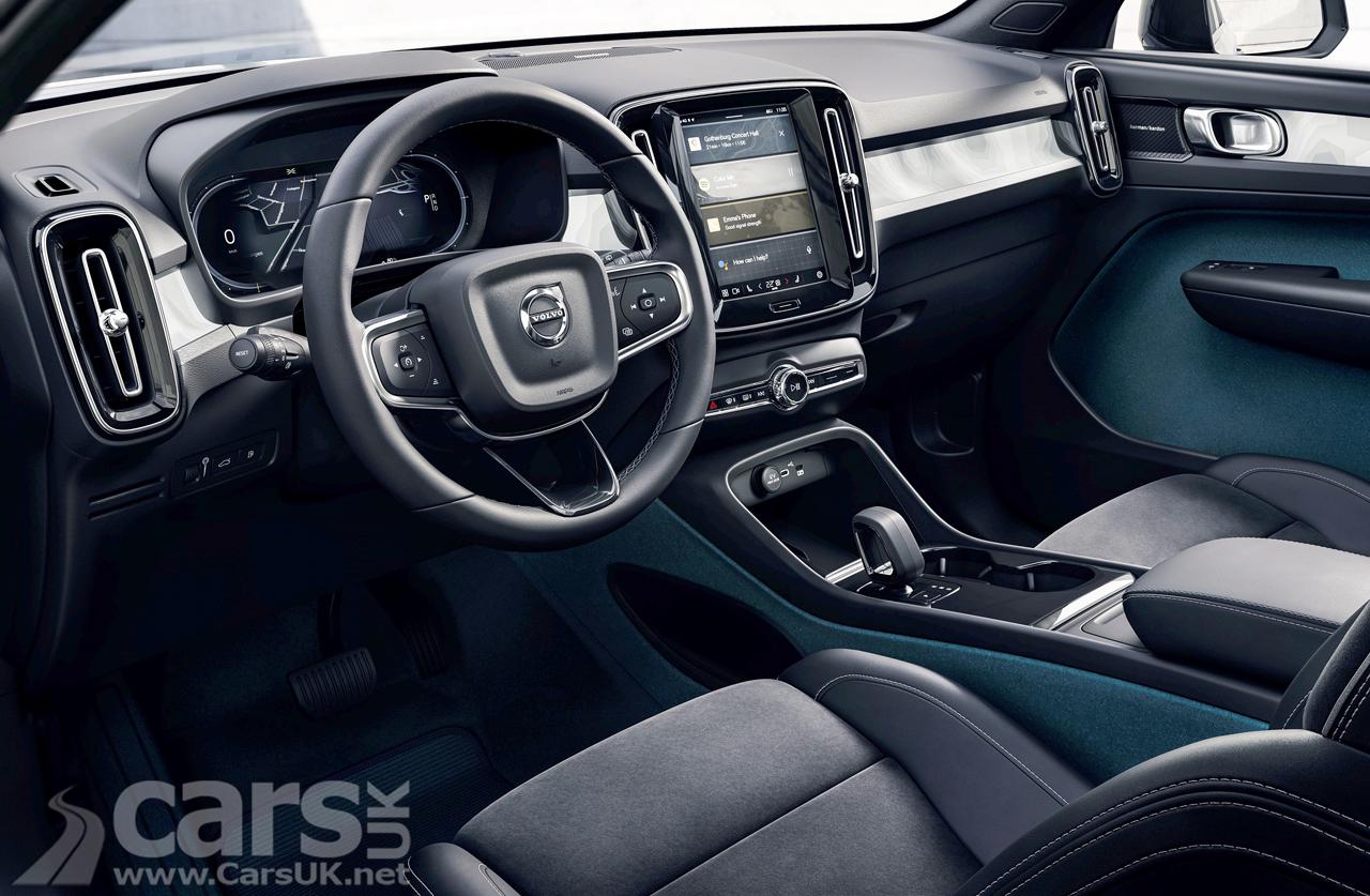 Photo Volvo leather-free interior