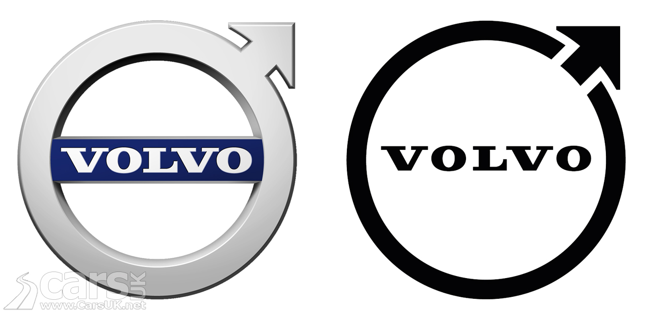 Photo Volvo has a new FLAT logo
