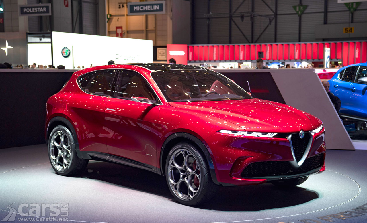 The Alfa Romeo Tonale SUV Concept which will debut in March 2022 as a production Alfa