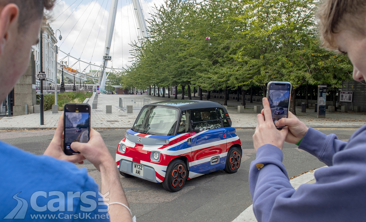 Electric Citroen Ami has MORE than 1,000 reservations in the UK