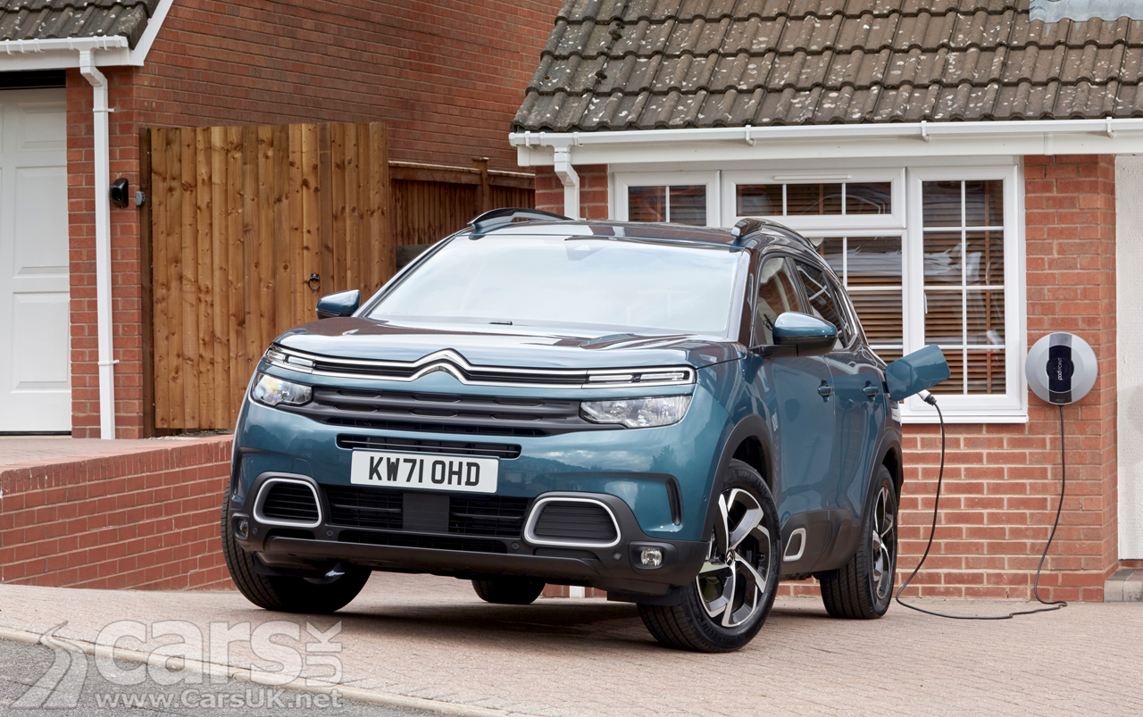 Citroen C5 Aircross SUV PHEV will now NAG you to plug-in