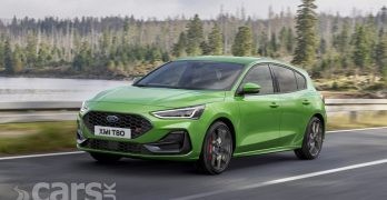 The Ford Focus with new looks for its mid-life facelift (Focus ST pictured)