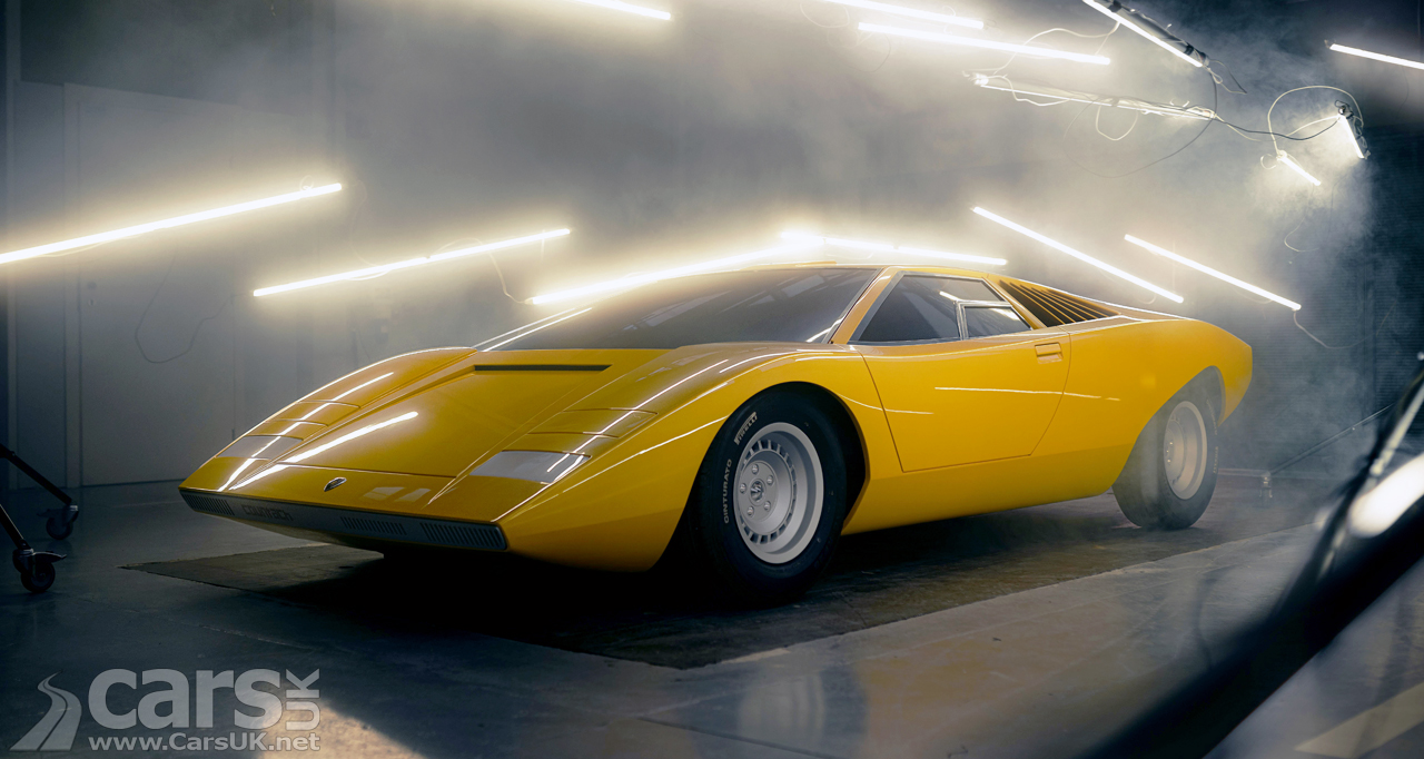 The Lamborghini Countach LP 500 Concept recreated 50 years on from the original's debut