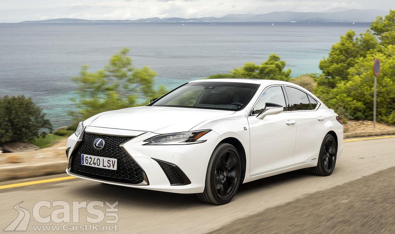 Lexus ES UPDATED with new look, suspension tweaks and new tech