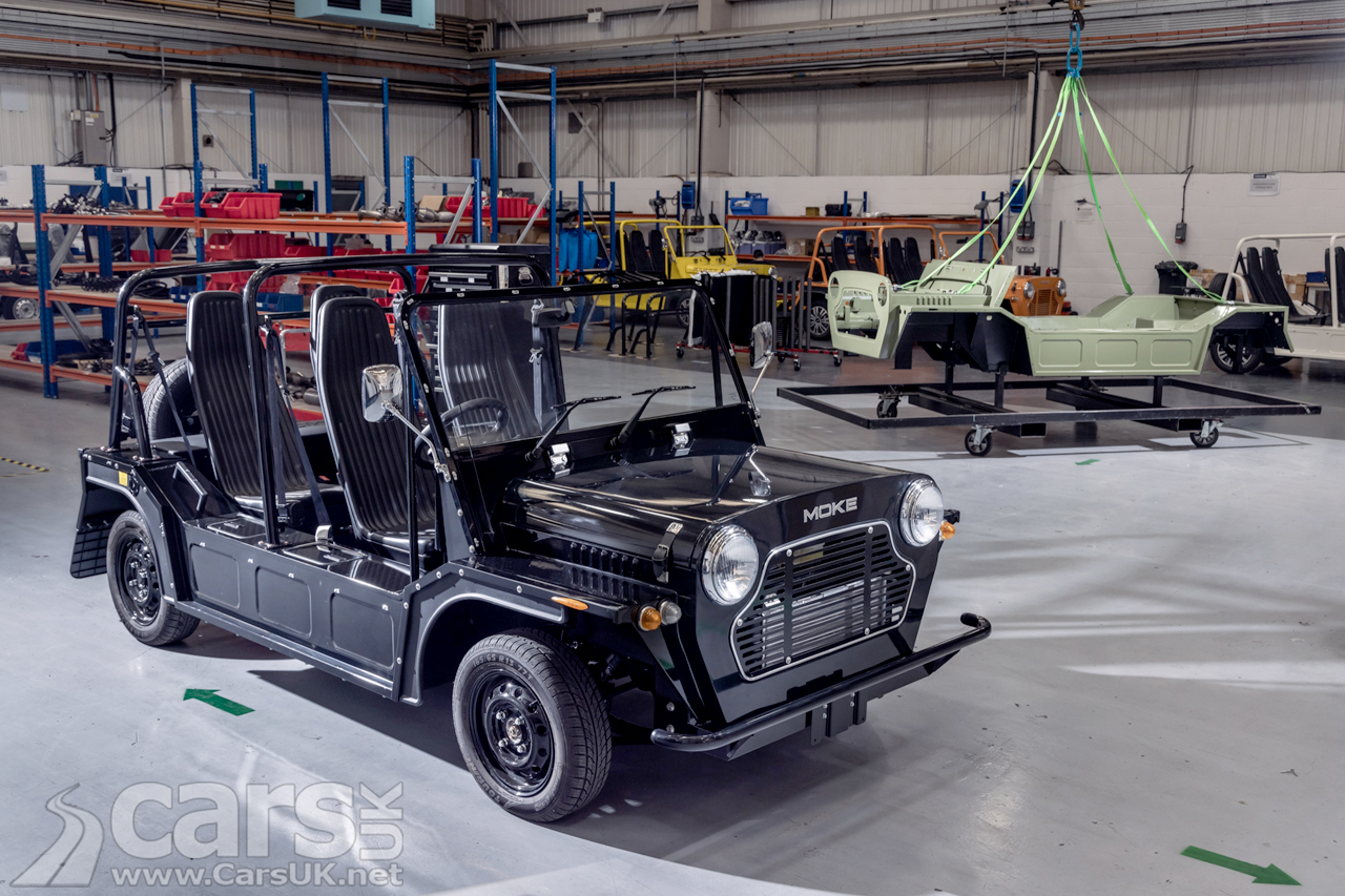 Production of the electric MOKE