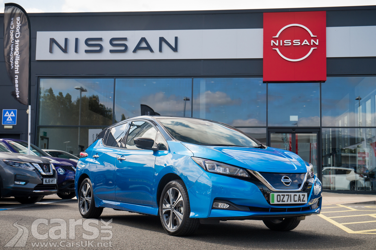 You can now include a 7kW EV home charger in your Nissan LEAF finance agreement.