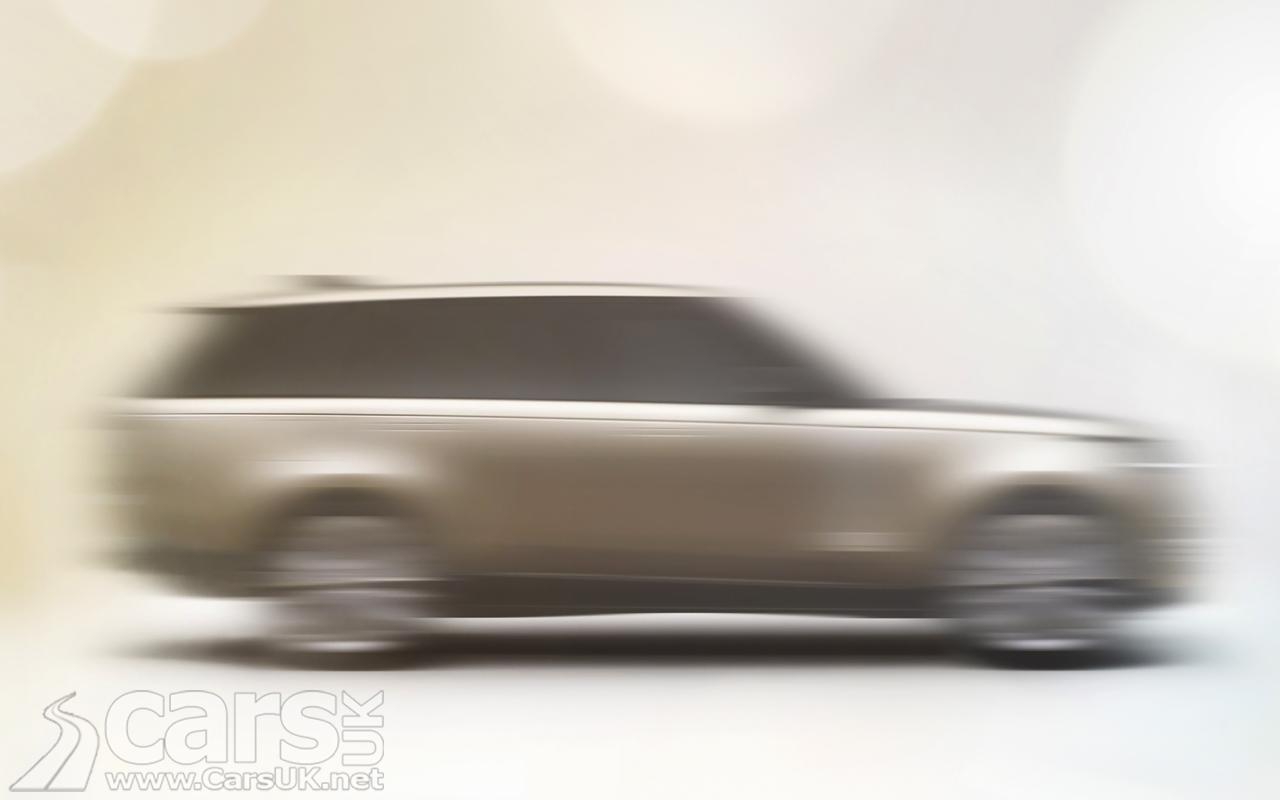 Land Rover TEASES new Range Rover