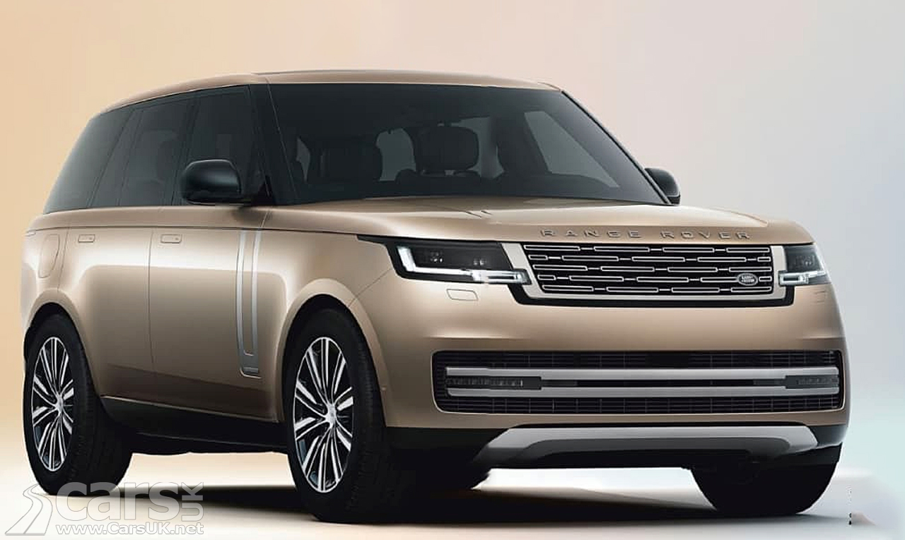 New Range Rover LEAKS out