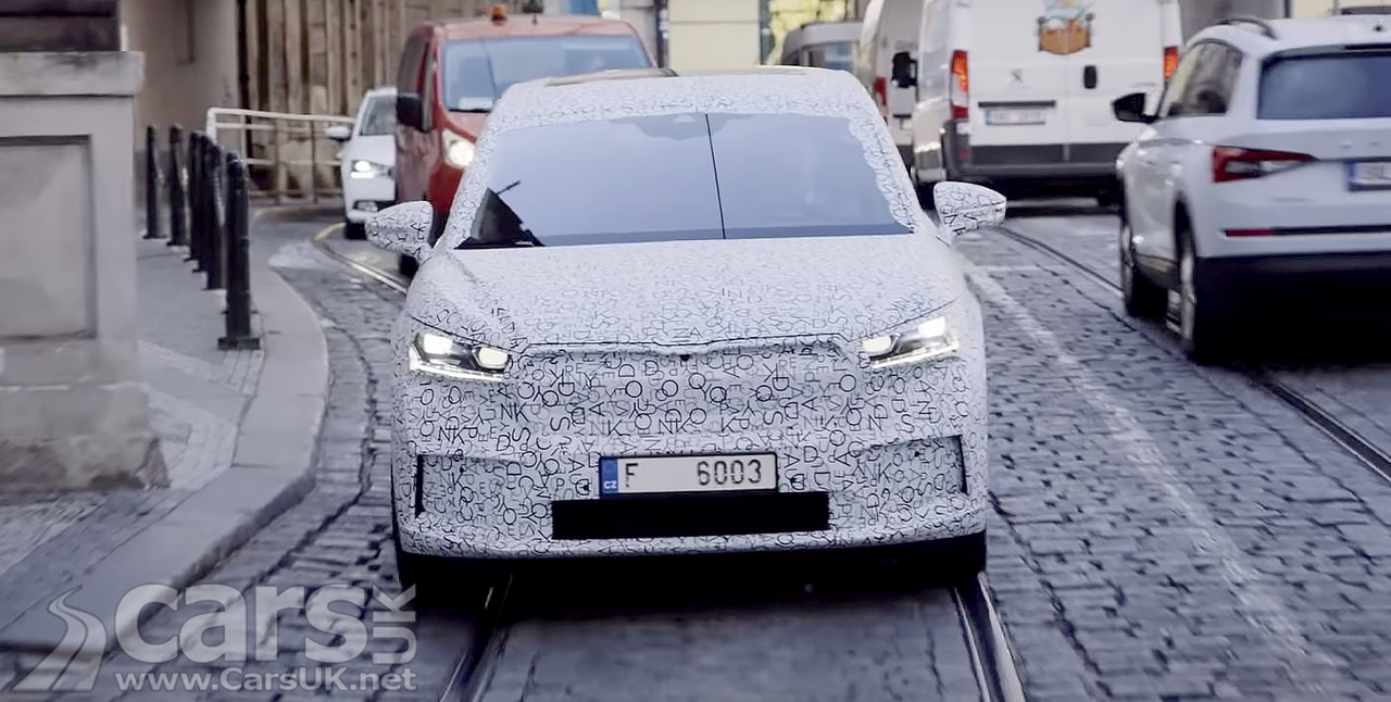 Skoda Enyaq iV Coupe tested by Skoda boss