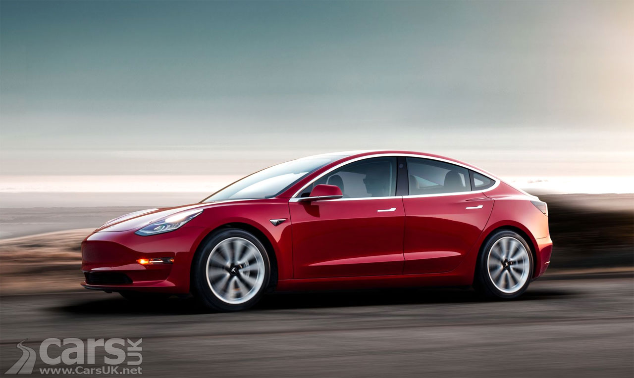 The Tesla Model 3 was the best-selling car in the UK in September 2021